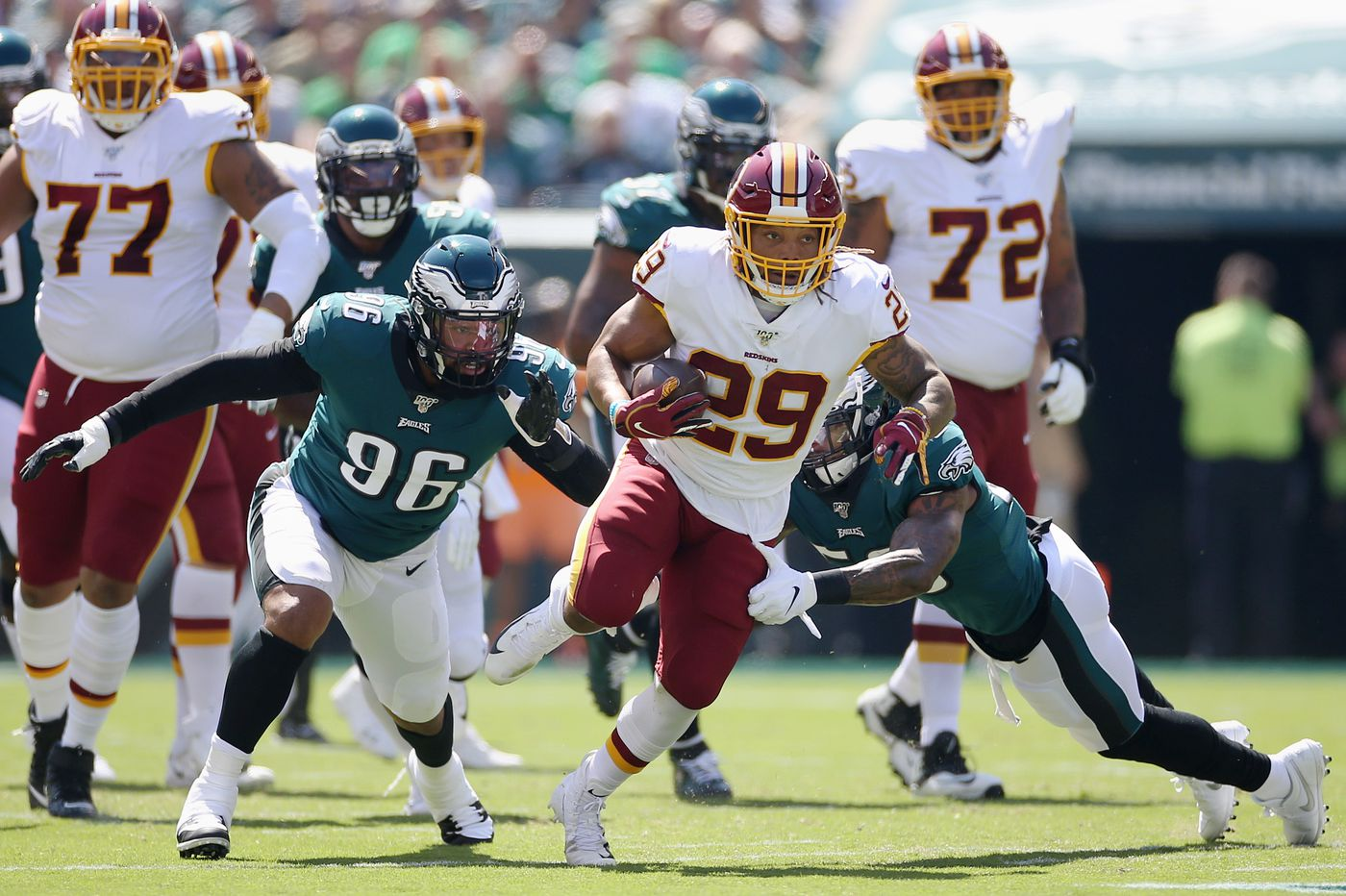 Eagles film breakdown: Pass rush needs to be better and a look at Akeem Spence