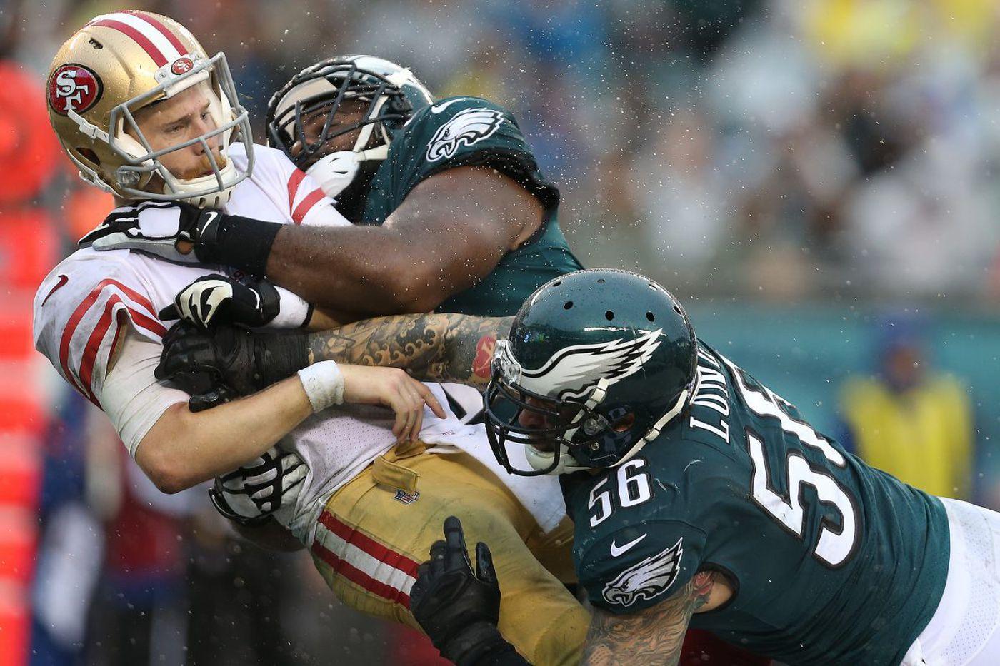 Hard-hitting Eagles defense a big reason for 7-1 start | Early Birds