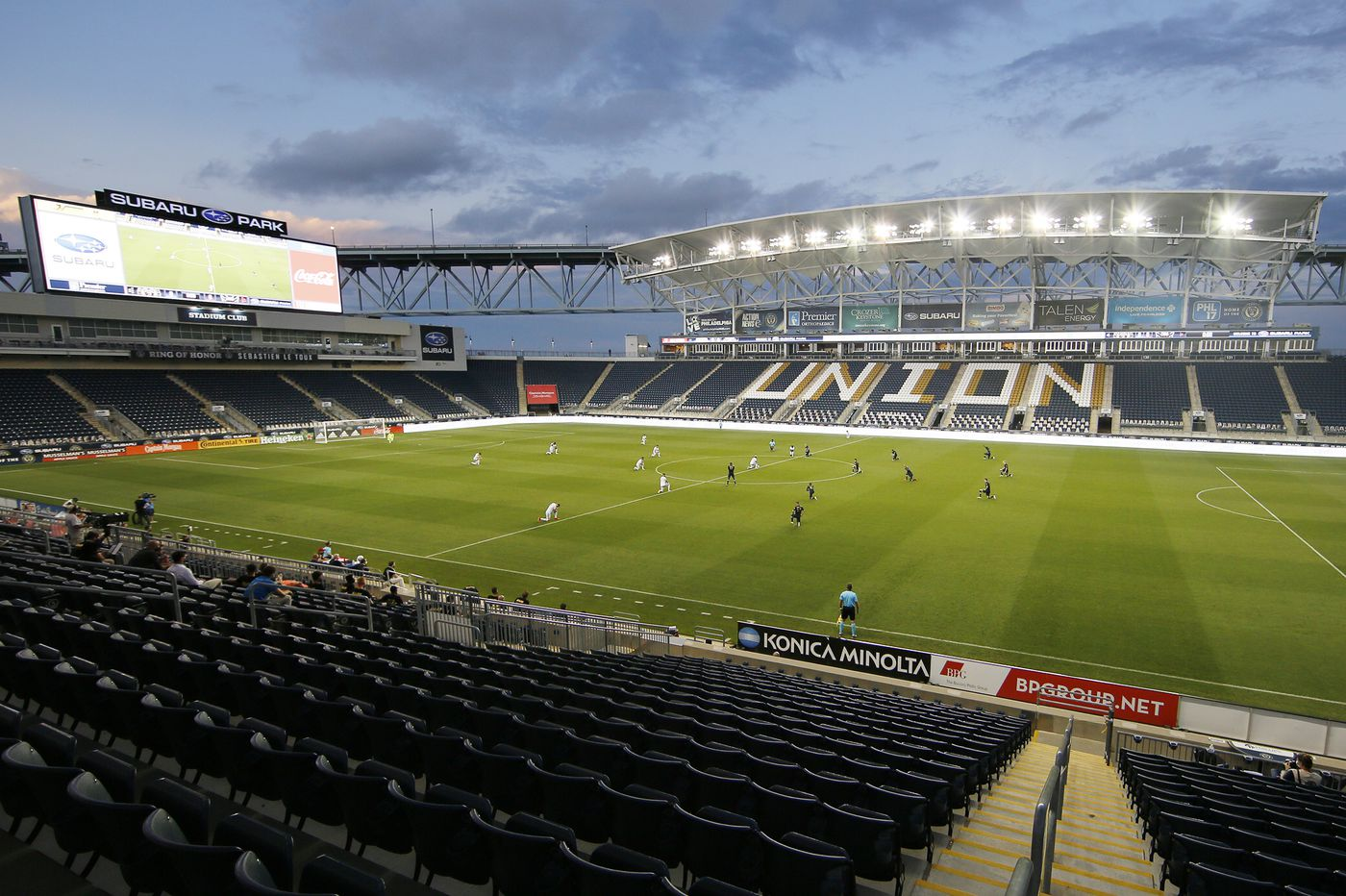 The Union will be the first Philadelphia sports team to have fans back in the stands