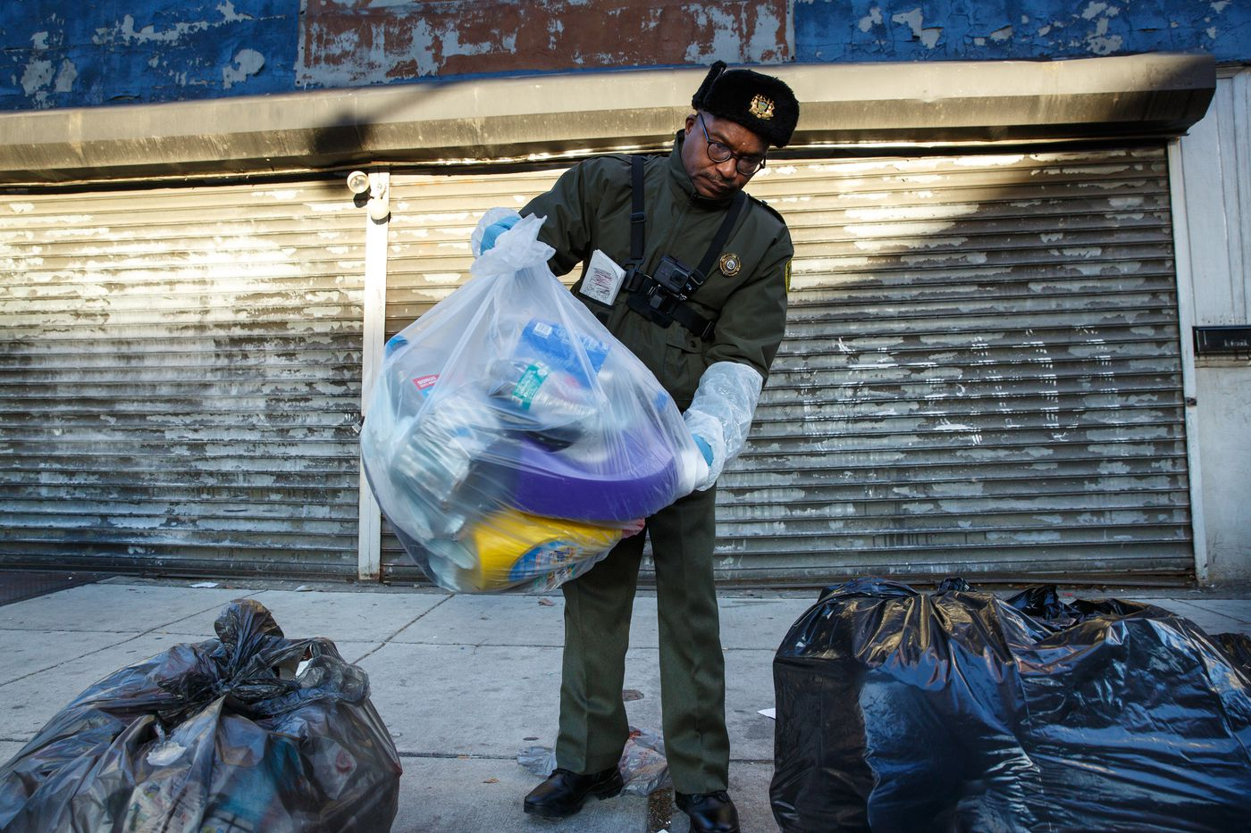 Here's why you shouldn't bash the trash cops