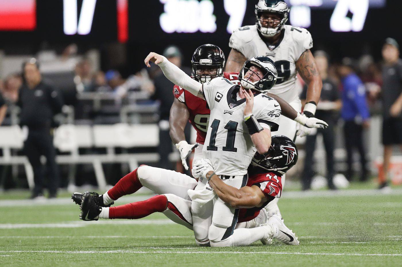 Carson Wentz is one tough cookie, but will the Eagles quarterback crumble?