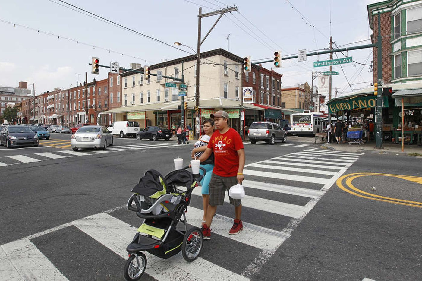 Residents support reducing Washington Avenue to three driving lanes in South Philly