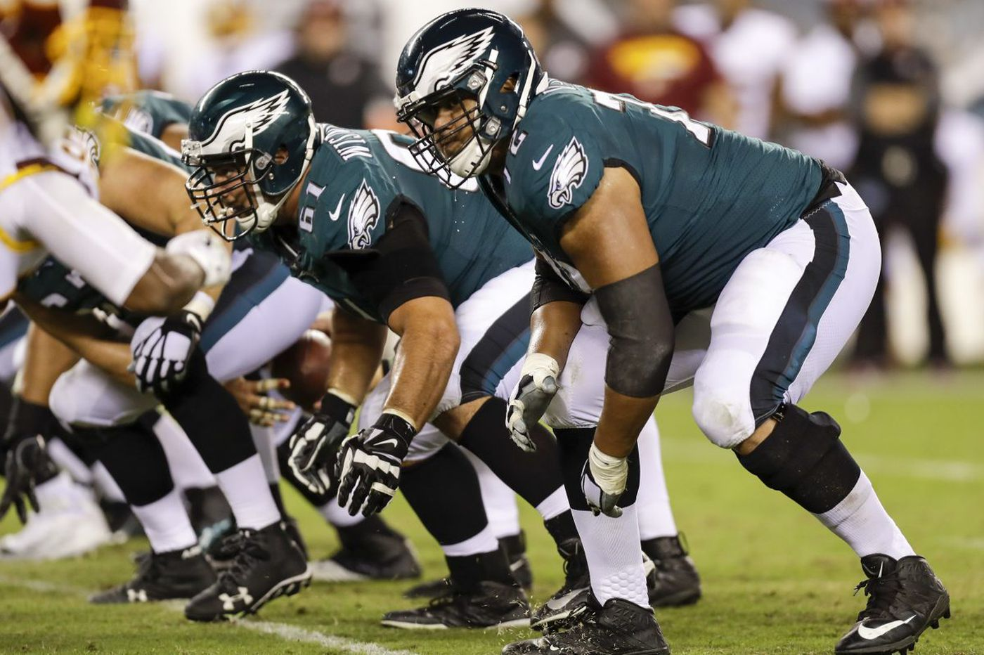 Key to Eagles tackle Halapoulivaati Vaitai's improvement: His hands | Early Birds