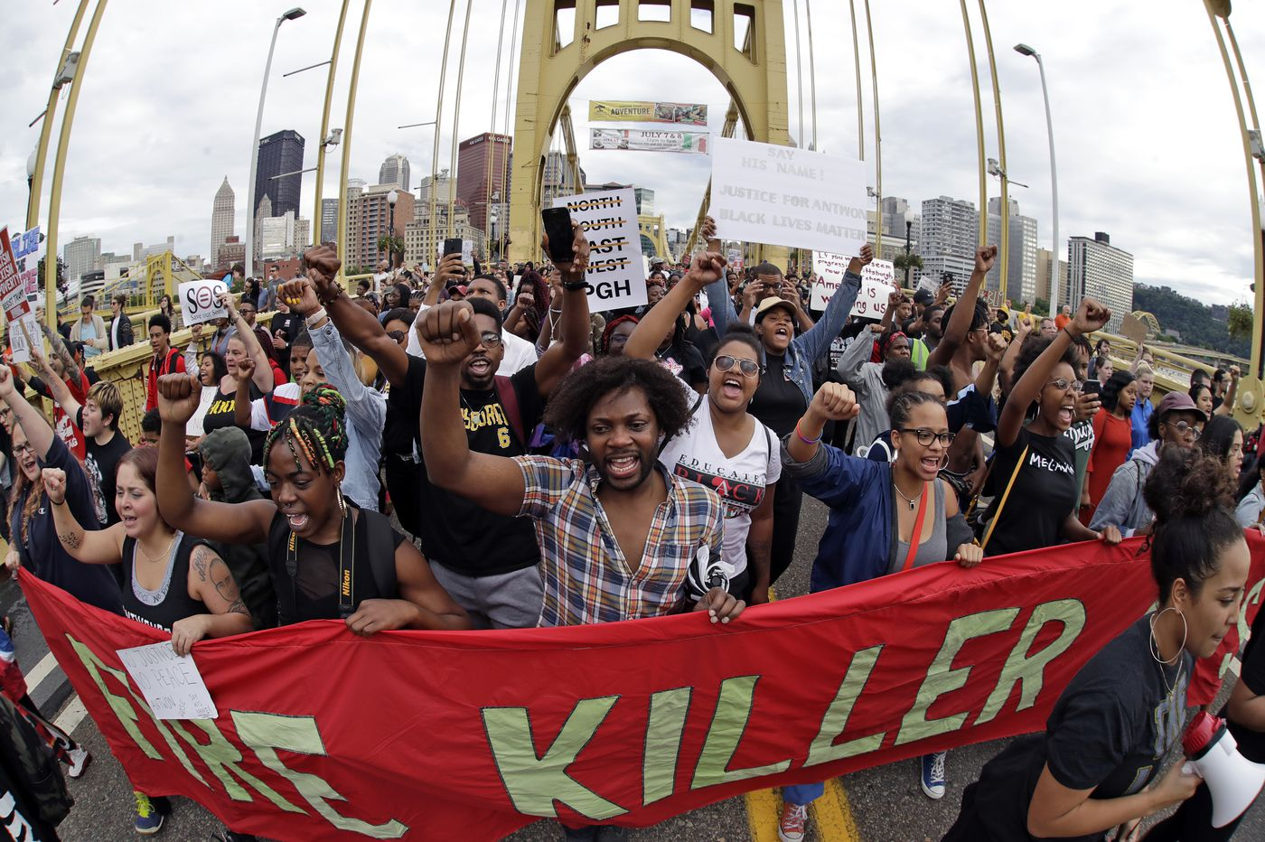 Anger mounts in Pittsburgh as third day of protests follow police killing of teen