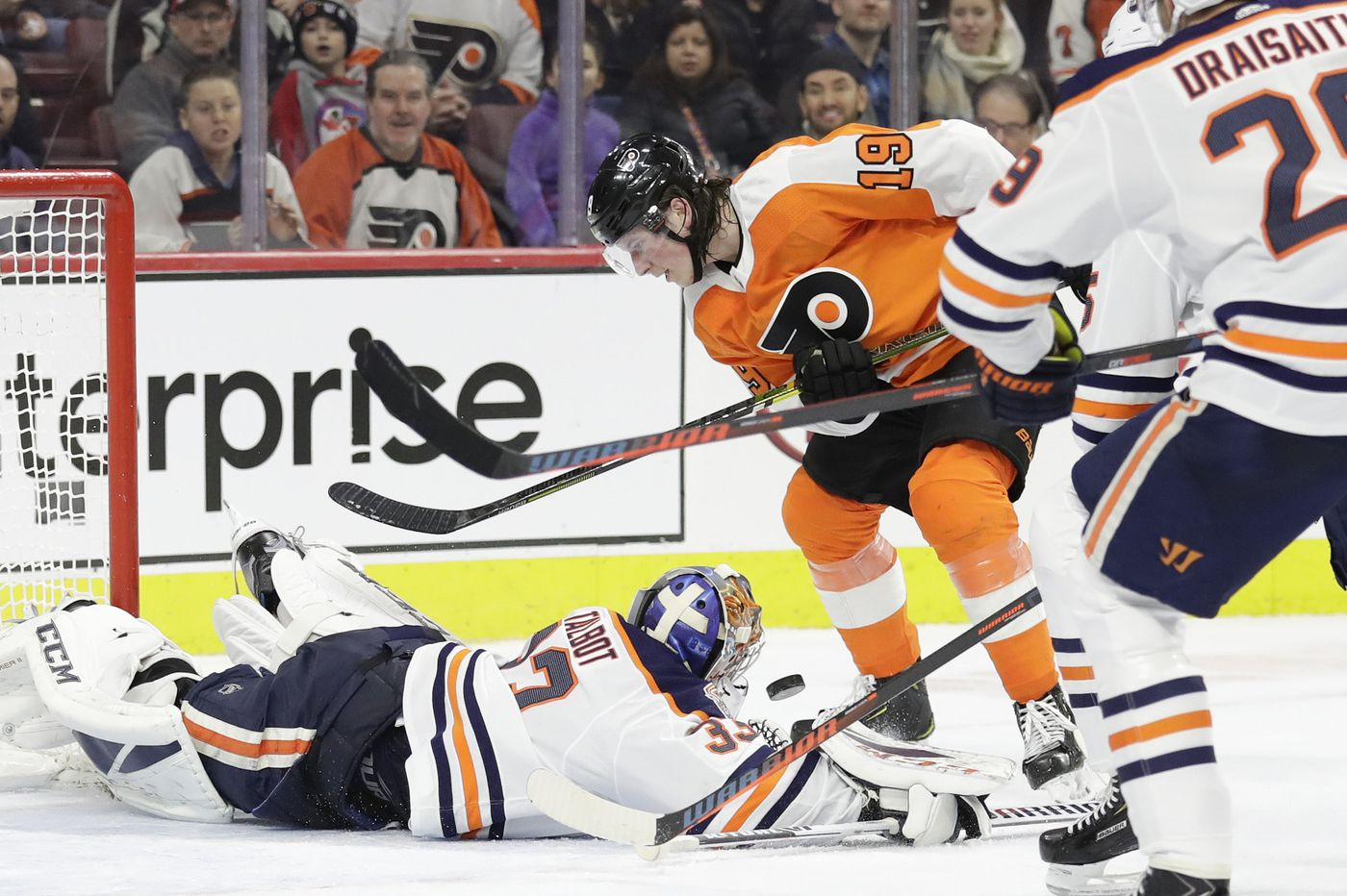 Flyers trade for Cam Talbot, send Anthony Stolarz to Edmonton Oilers in exchange of goalies