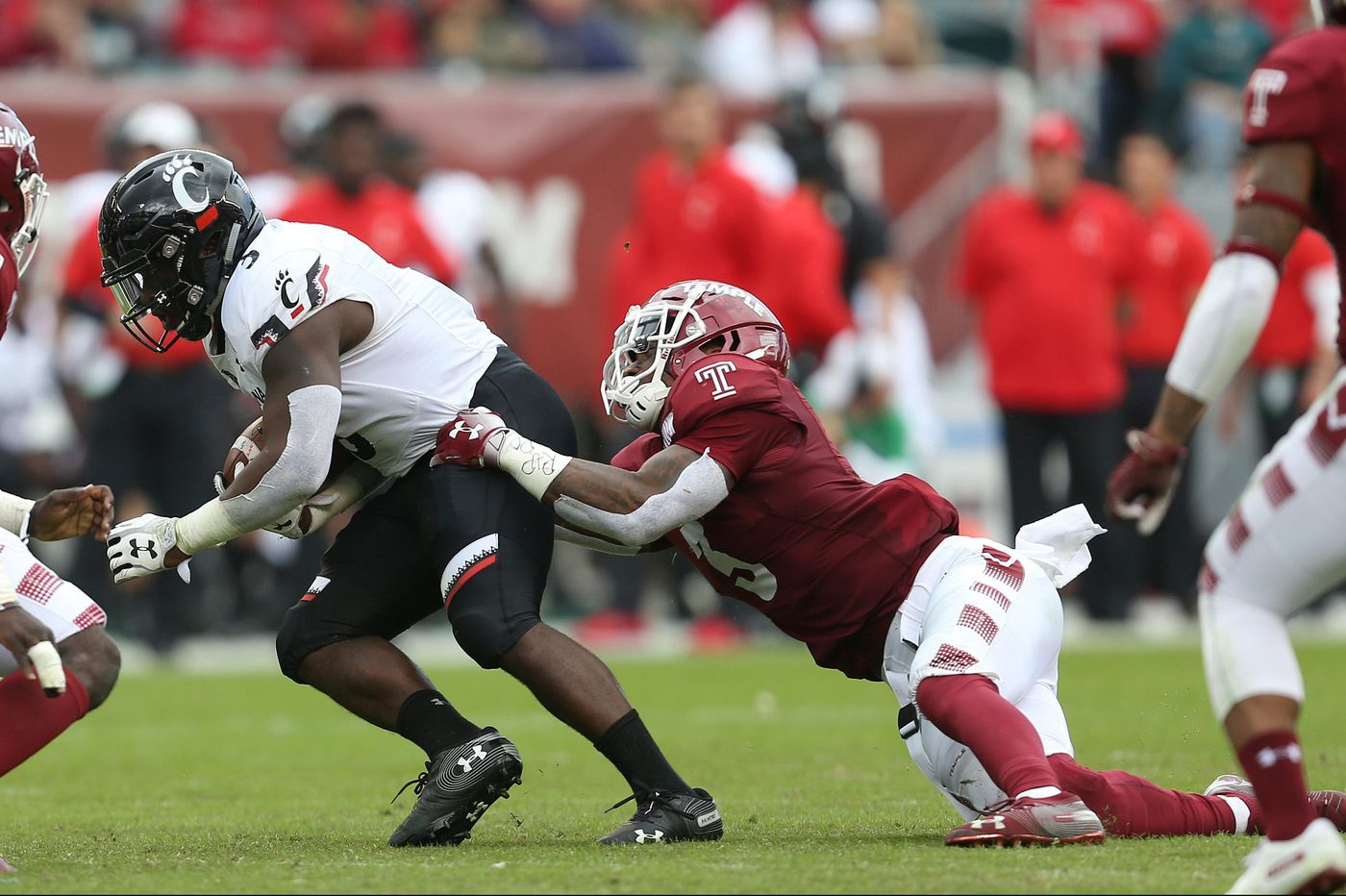 Temple's Chapelle Russell has returned from second ACL tear to have strong season