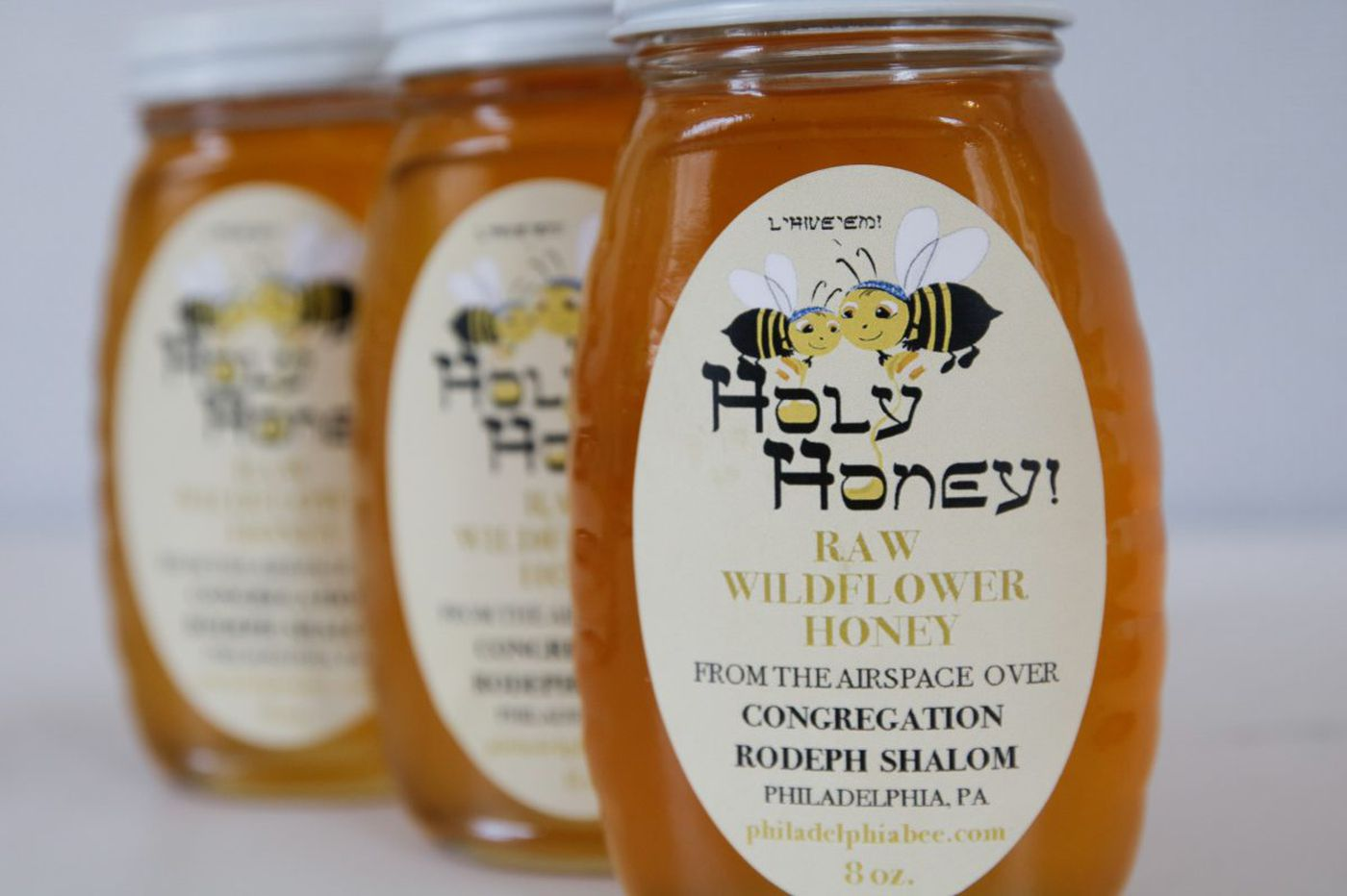 Holy local honey for the High Holidays