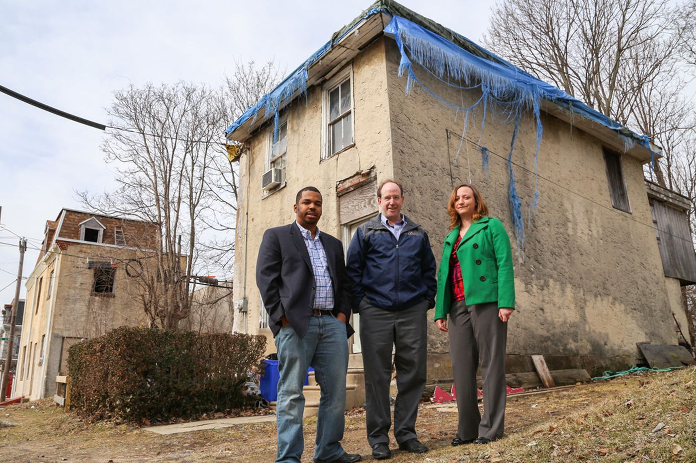 Effort to help rehab Germantown housing