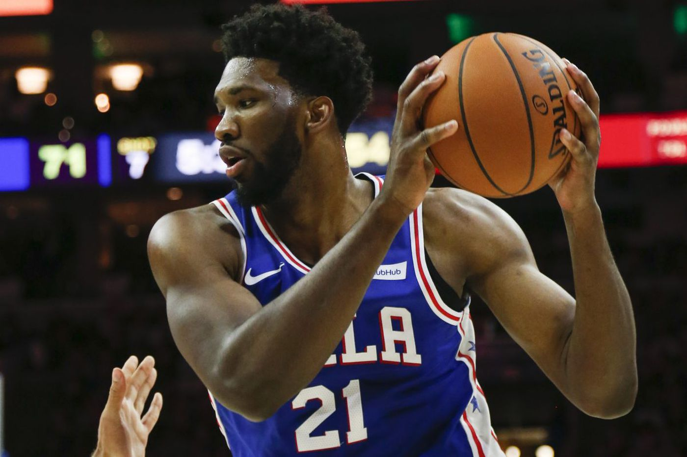 """Sixers' Joel Embiid is """"available"""" to play in back-to-backs, against Bucks on Monday"""