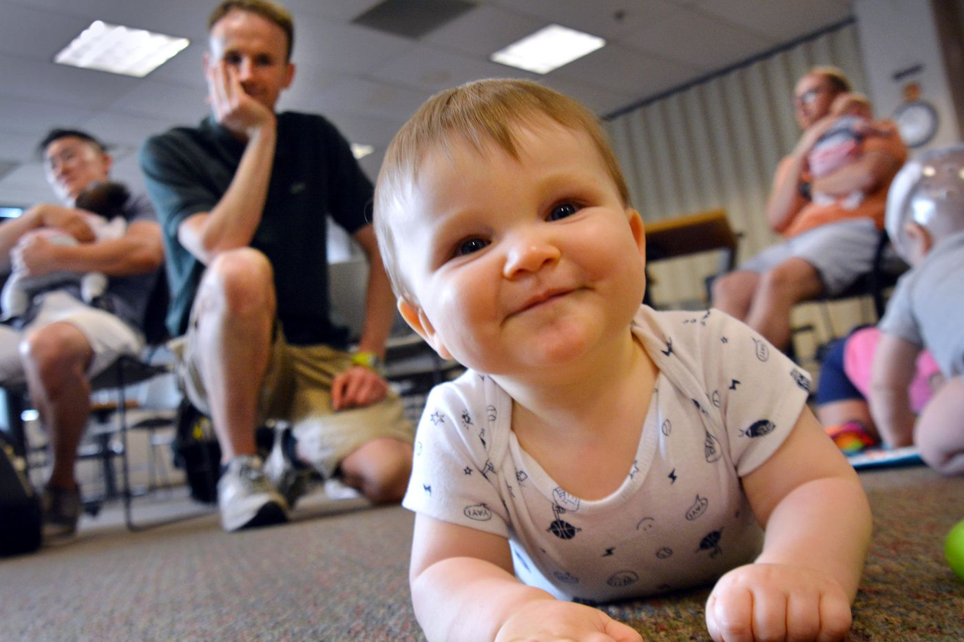 The secrets of sleep deprivation: DadLab offers new fathers wisdom in the company of men