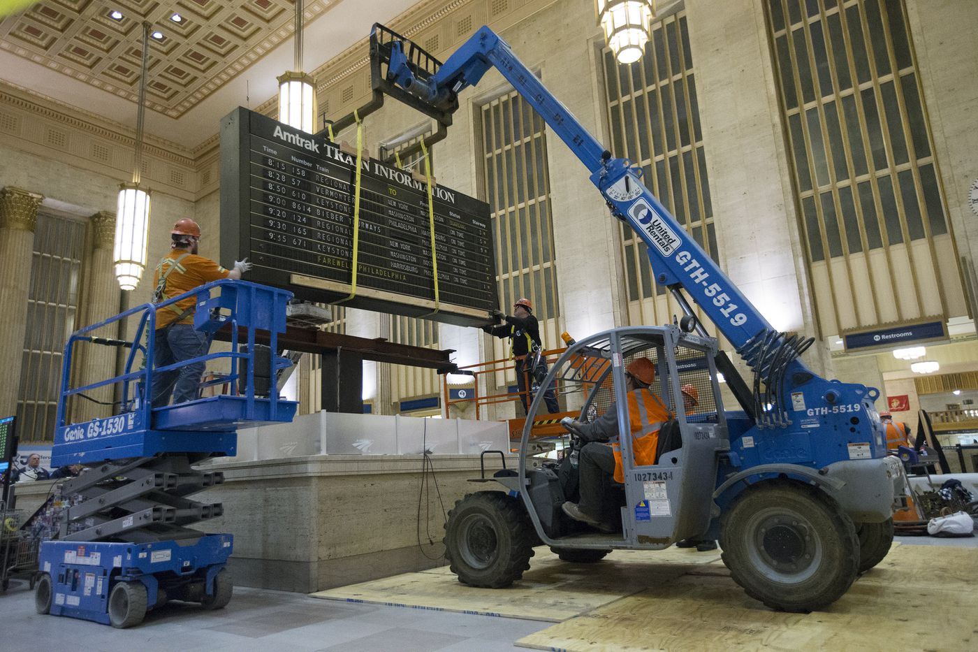 Philadelphia says goodbye to its iconic 30th Street Station