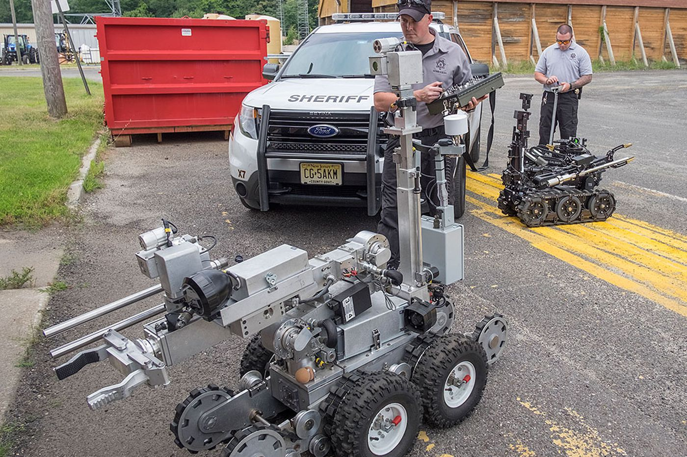 Robots proving their mettle in county law enforcement