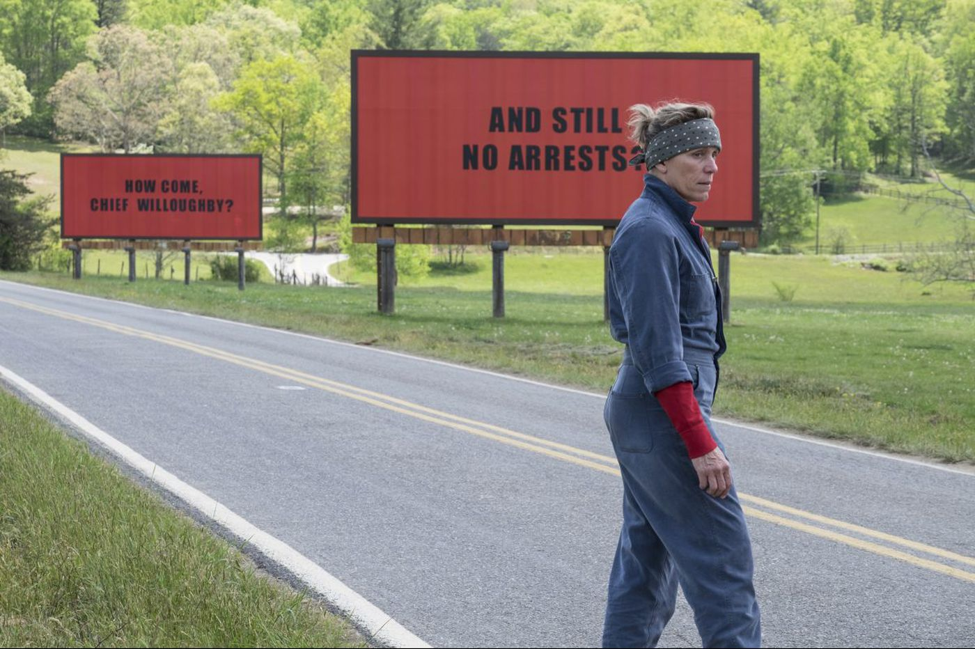 'Three Billboards Outside Ebbing, Missouri': One of the year's angriest, and best