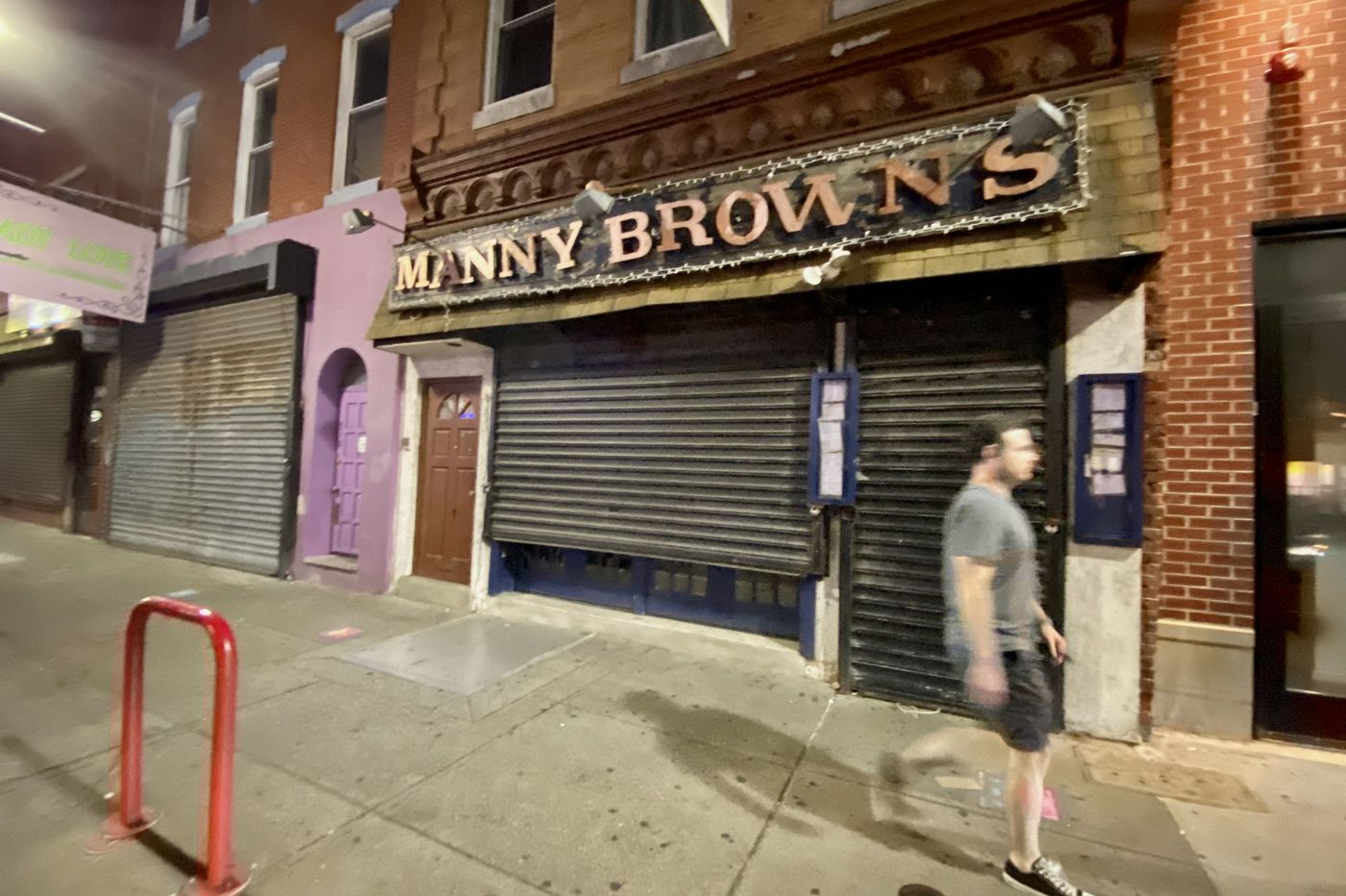 Have we seen the last of Manny Brown's, the bar fixture on South Street?