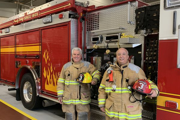 These clergymen will cut short their sermons to fight fires in Paoli