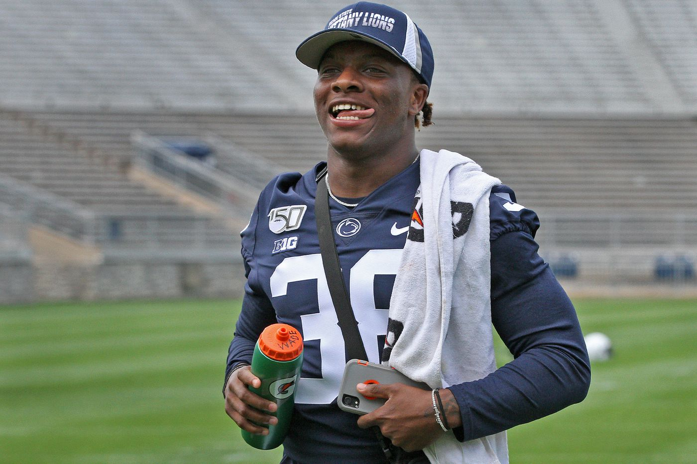 Penn State football training camp features a fierce competition for a starting safety spot