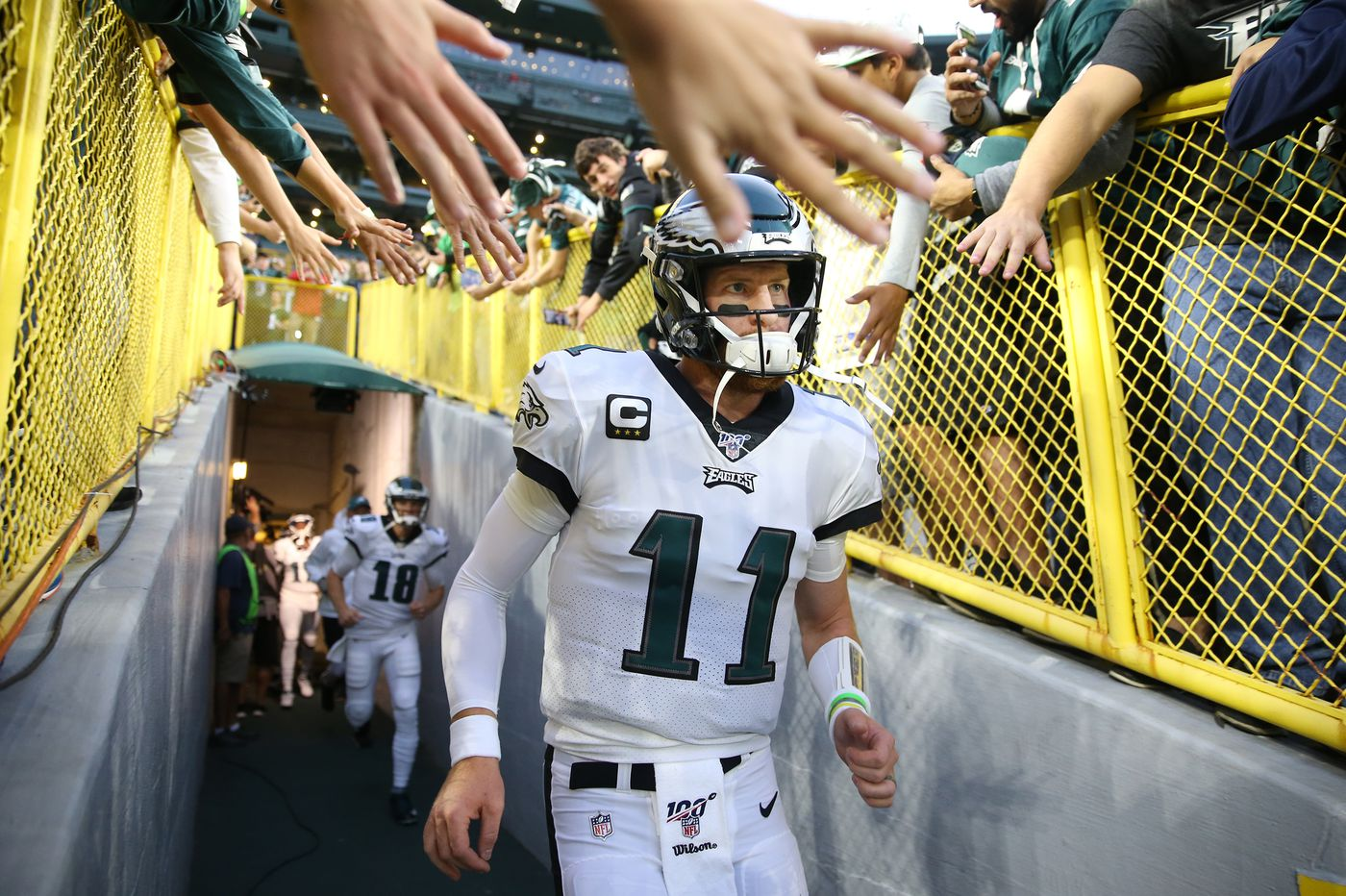 Eagles make big jump on NFL power rankings lists, thanks largely to Carson Wentz