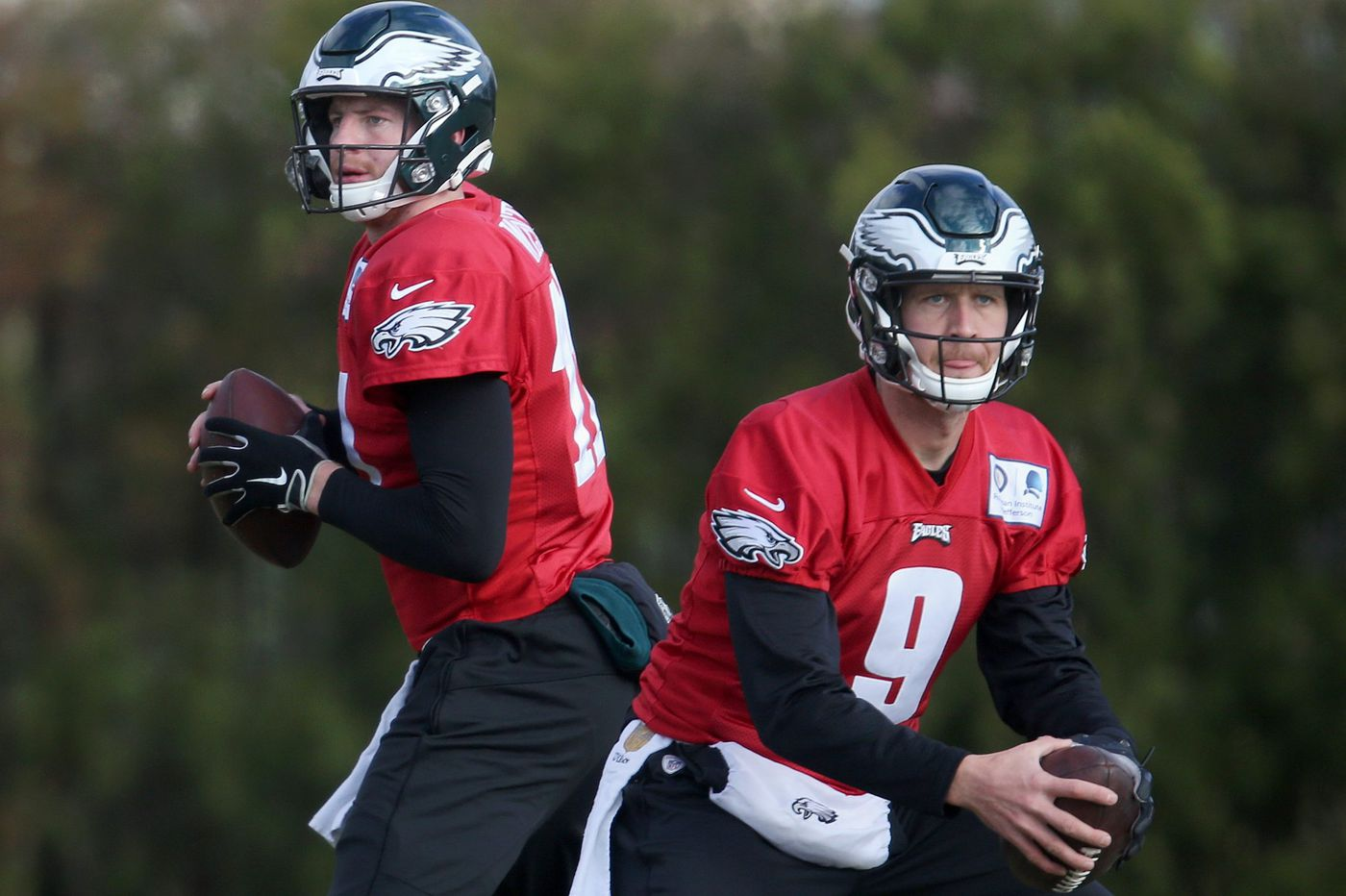 Nick Foles is 30. Carson Wentz is 26. How long can an athlete stay in top form?
