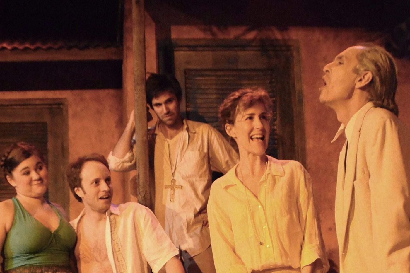Sultry 'Night of the Iguana' at South Camden Theatre Company