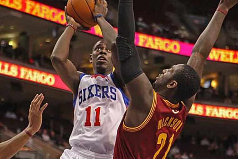 The 76ers shot 51.9 percent from the field in last night's win over the Cavaliers. (Michael Bryant/Staff Photographer)
