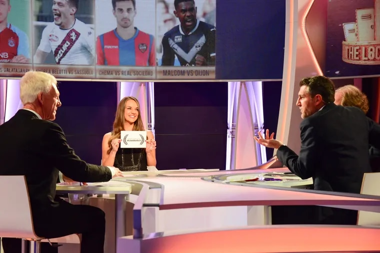 BeIN, which has rights to European soccer leagues, offers sports talk on The Locker Room.