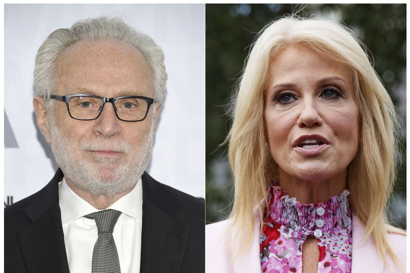 CNN's Wolf Blitzer asks Kellyanne Conway about husband's MSNBC appearance