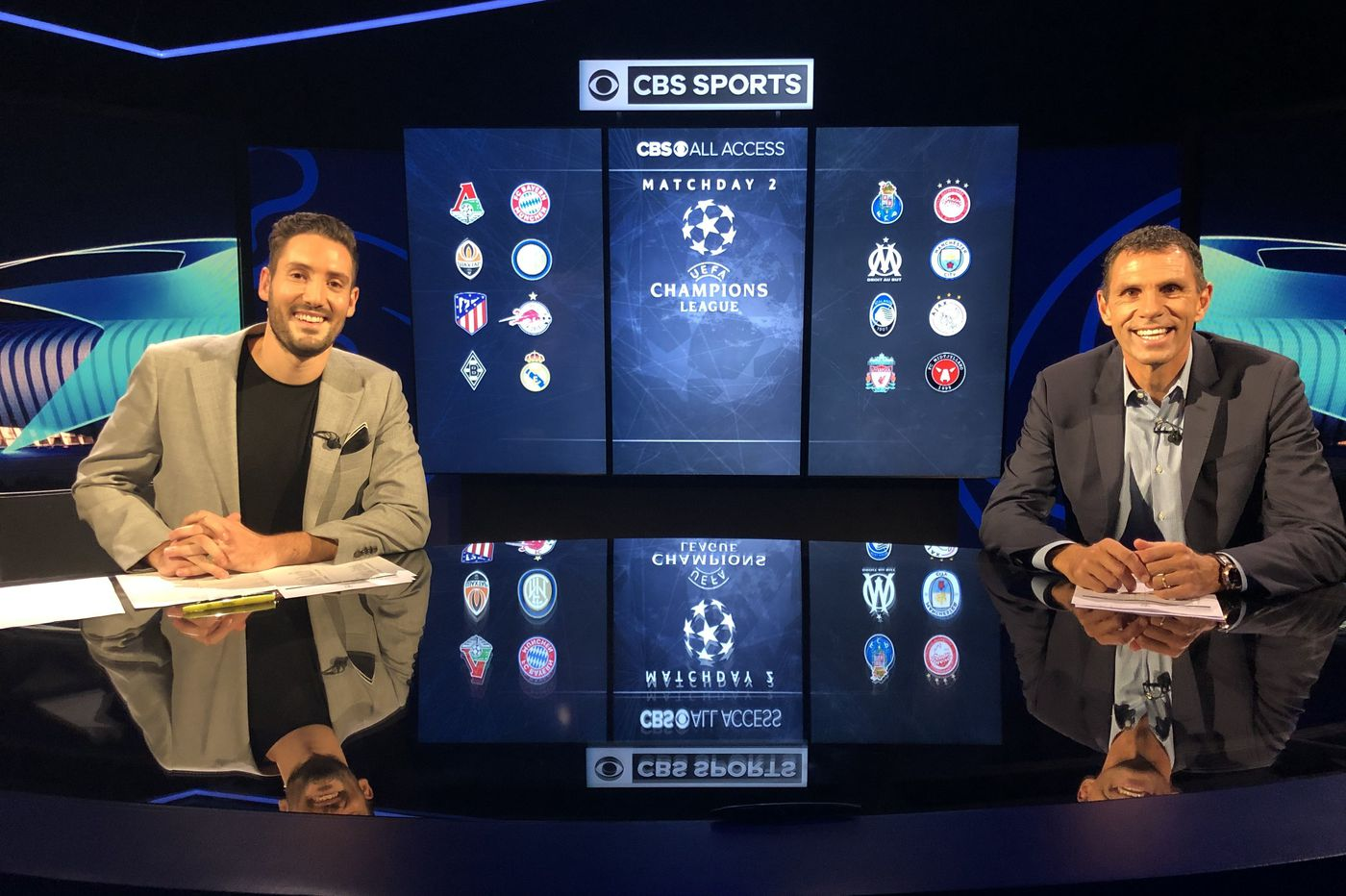 CBS' UEFA Champions League whiparound show proves a winning bet