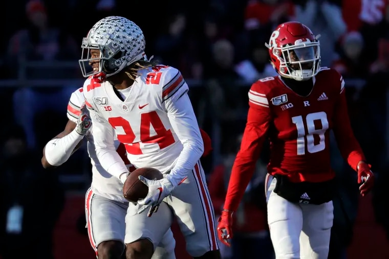 Ohio State cornerback Shaun Wade is a projected first-round pick in the 2021 NFL Draft.