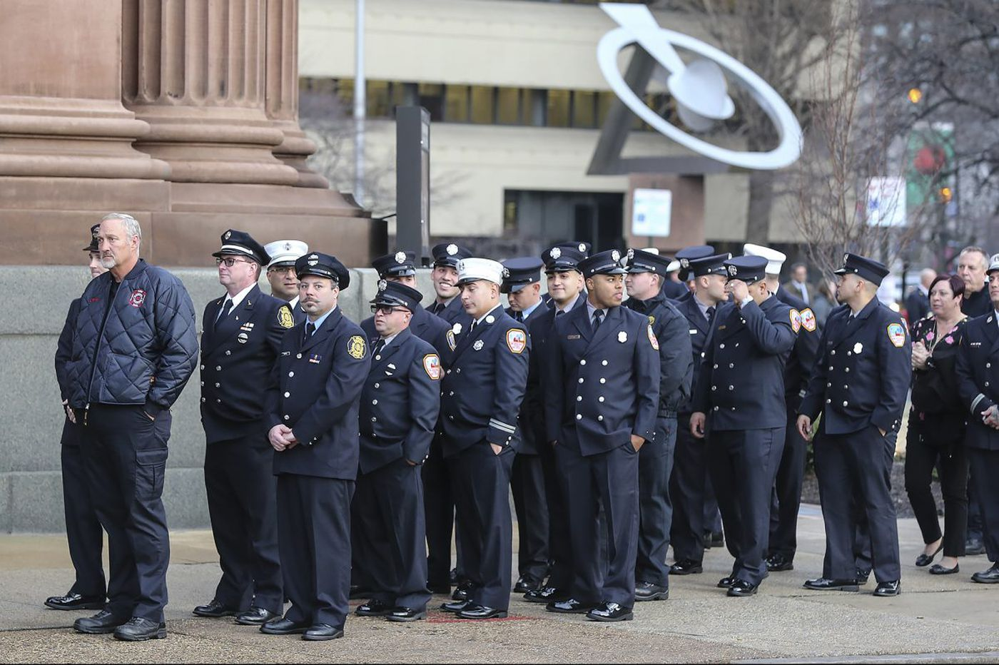 Show of unity for fallen Philly firefighter LeTourneau