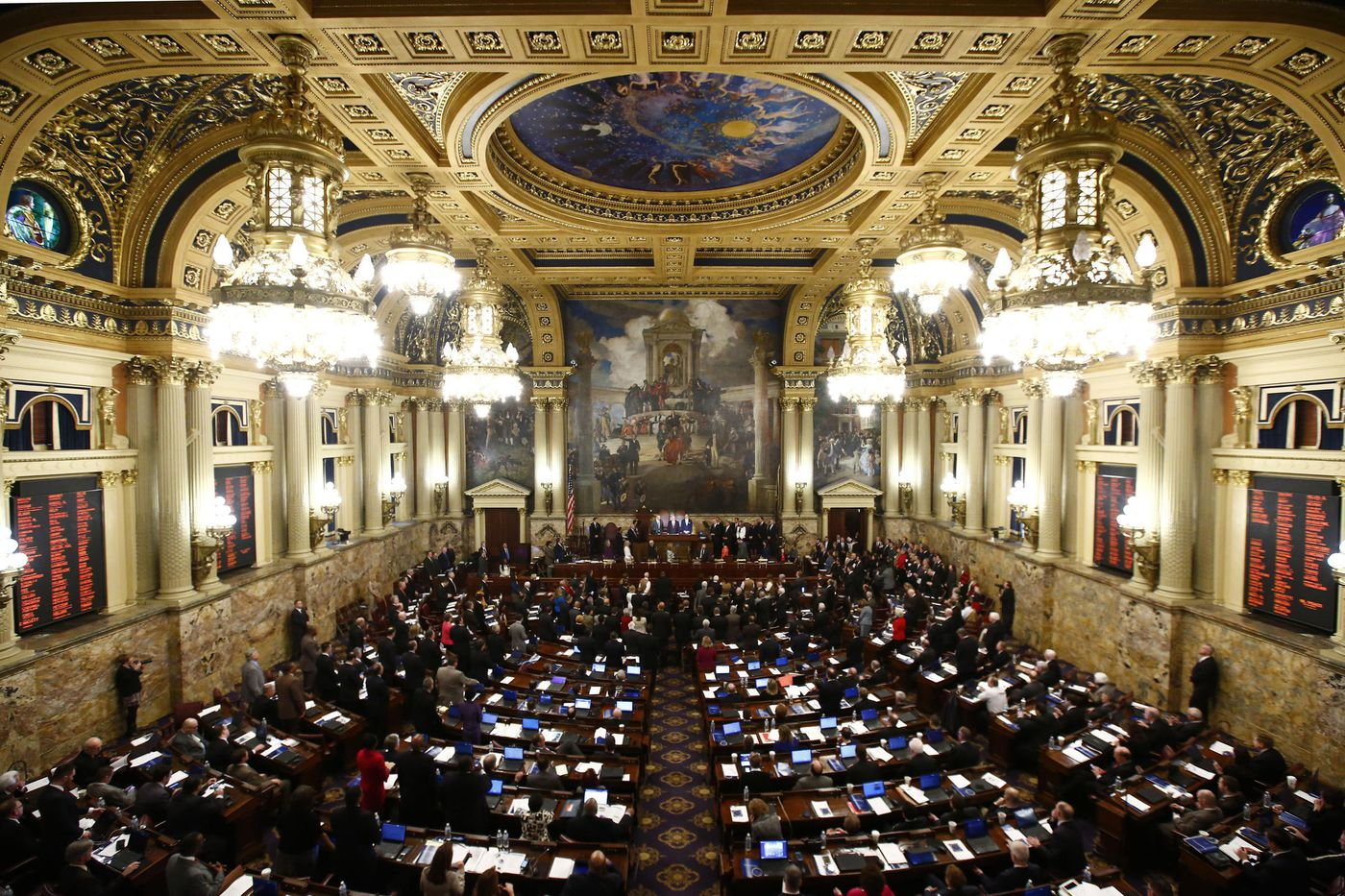 In the Pa. Senate, every day starts with a witty ditty