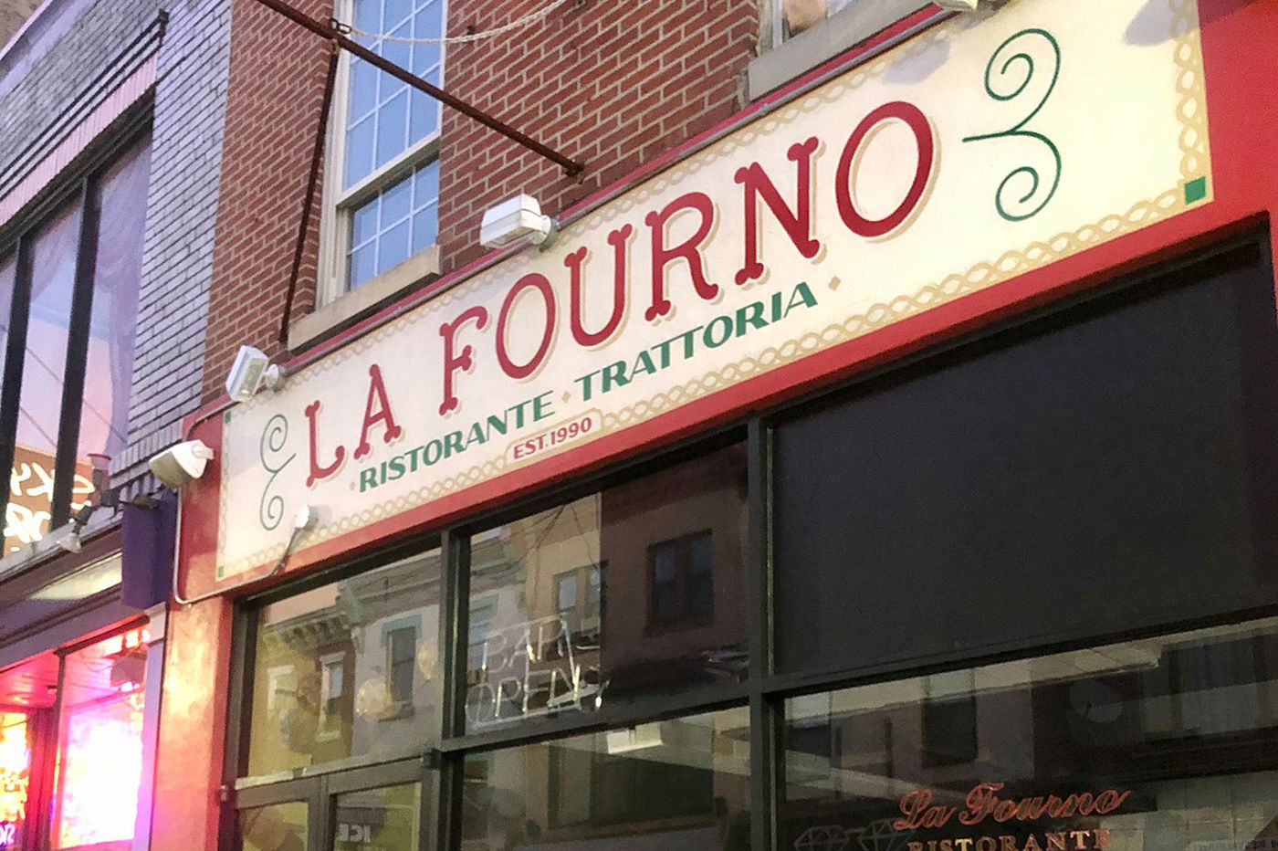La Fourno has closed, creating another restaurant vacancy on South Street