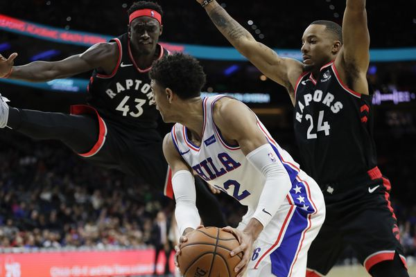 Despite the win over Toronto, the Sixers showed an inability to handle a late-game press