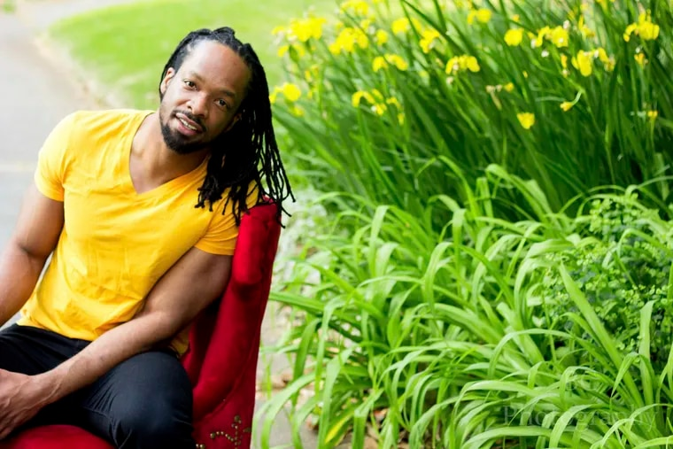 """This image released by Copper Canyon Press shows Jericho Brown, author of """"The Tradition,"""" winner of the Pulitzer Prize for Poetry. (Brian Cornelius/Copper Canyon Press via AP)"""