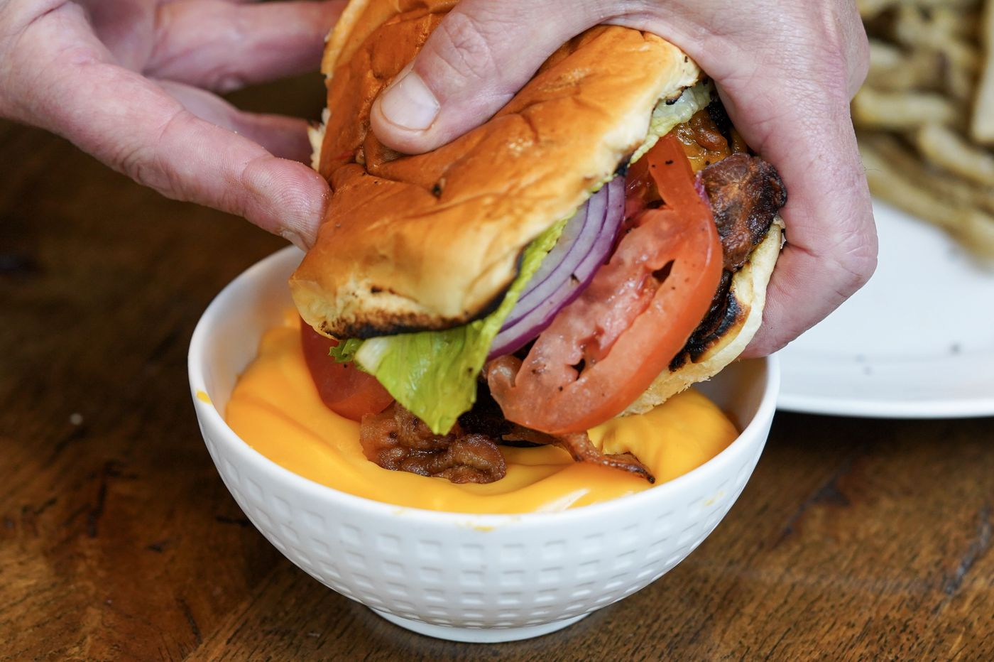 Free burgers at opening of Taps & Bourbon on Terrace in Manayunk
