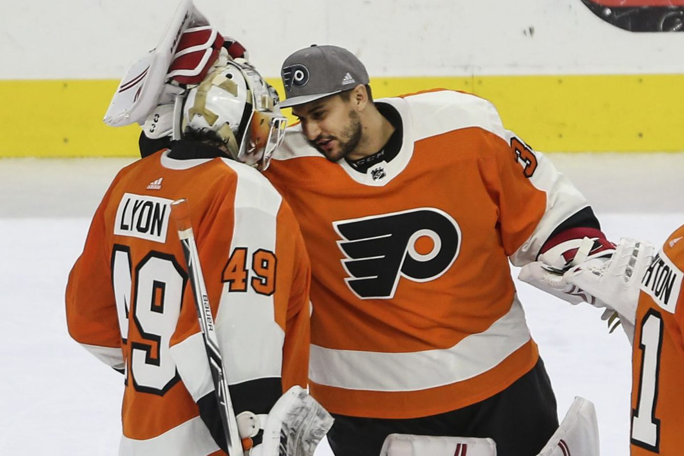 For Flyers goalie Alex Lyon, the chip on his shoulder is another tool