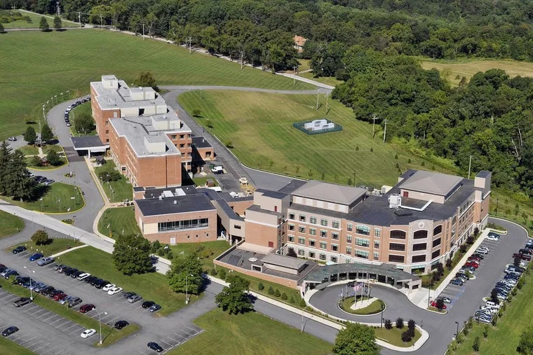 The state-run Southeastern Veterans' Center in Chester County suffered a devastating outbreak of coronavirus cases in spring 2020 that took dozens of lives.