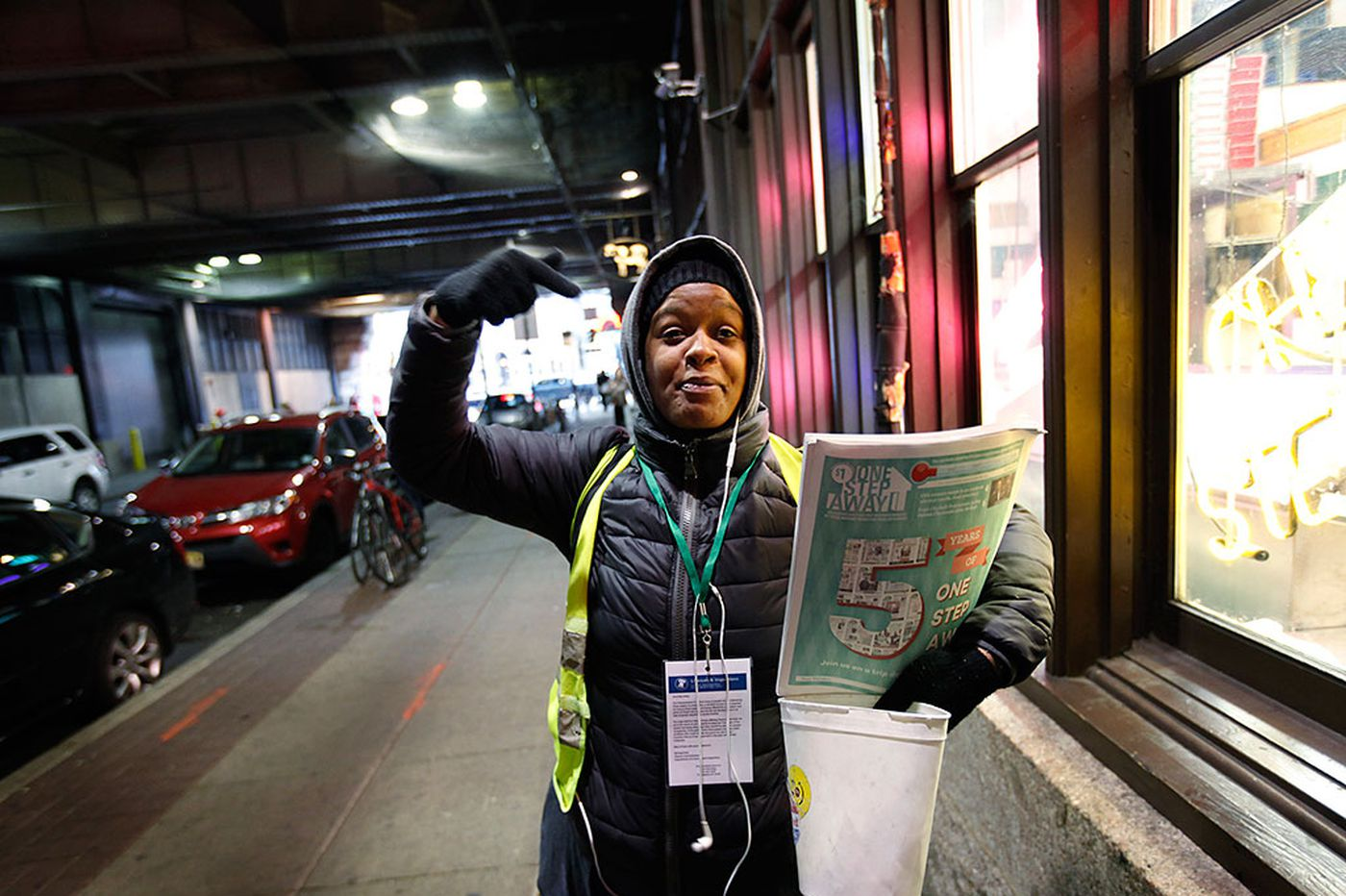 A paper by the homeless marks five years on the streets