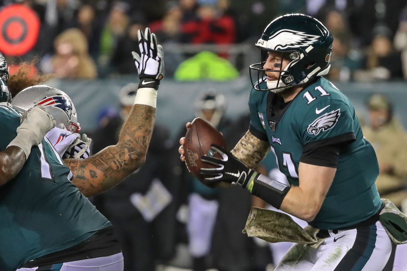 Eagles podcast: A deep dive into the Week 11 loss to the Patriots