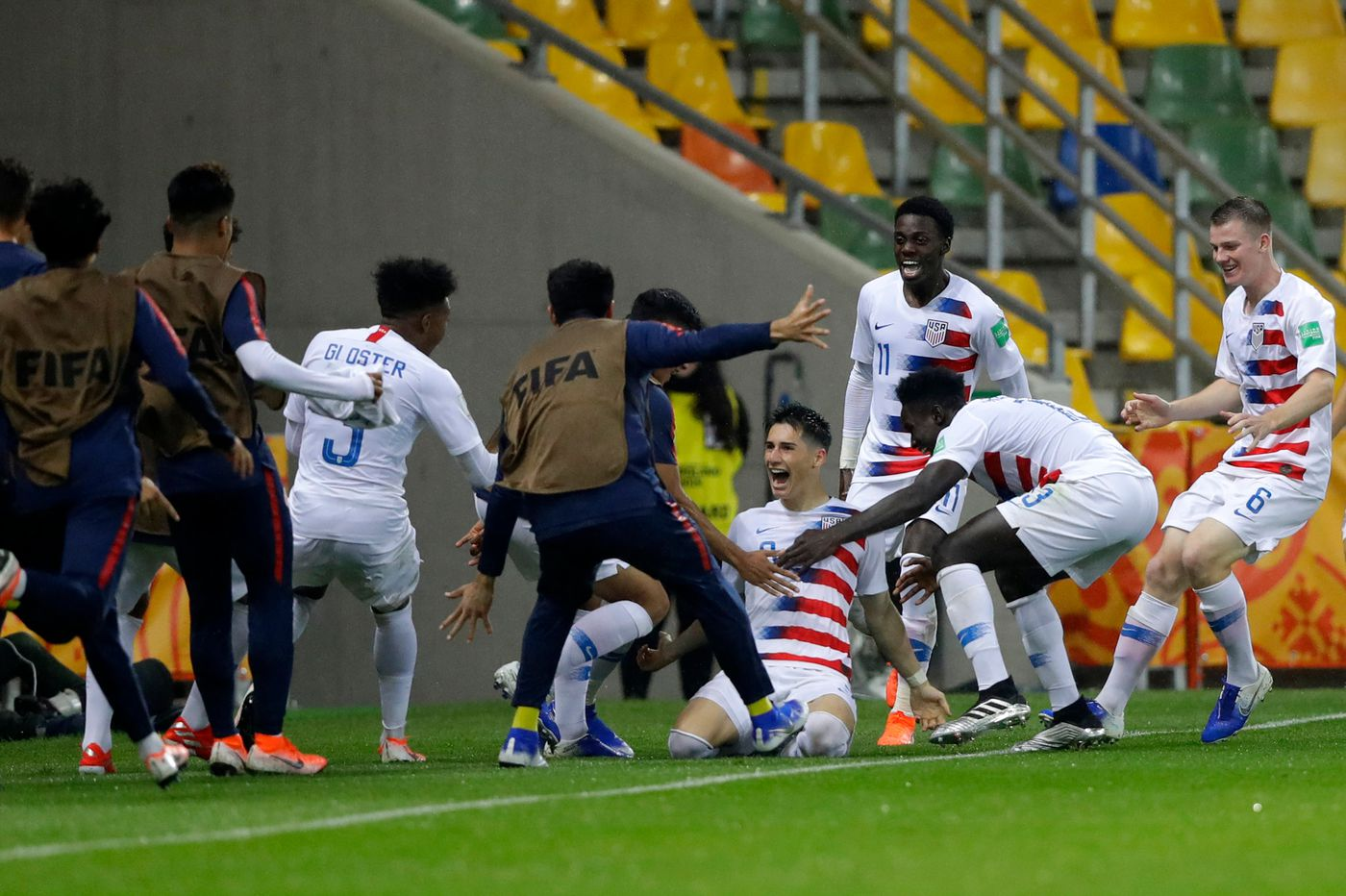 Sebastian Soto's goals give U.S. 2-0 win over Nigeria at under-20 World Cup