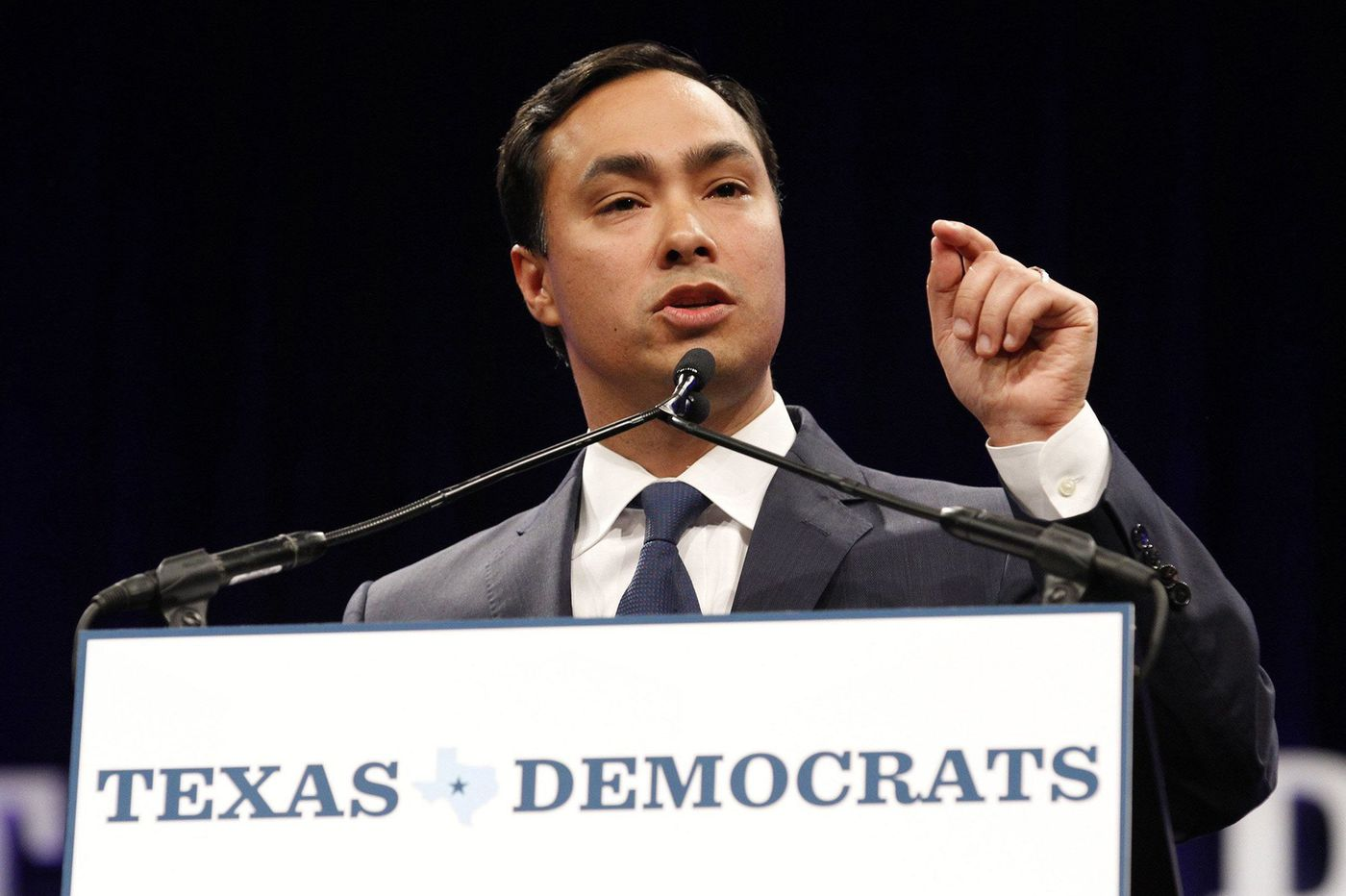 Joaquin Castro tweeted the names of top Trump donors. Republicans say it will 'encourage violence.'
