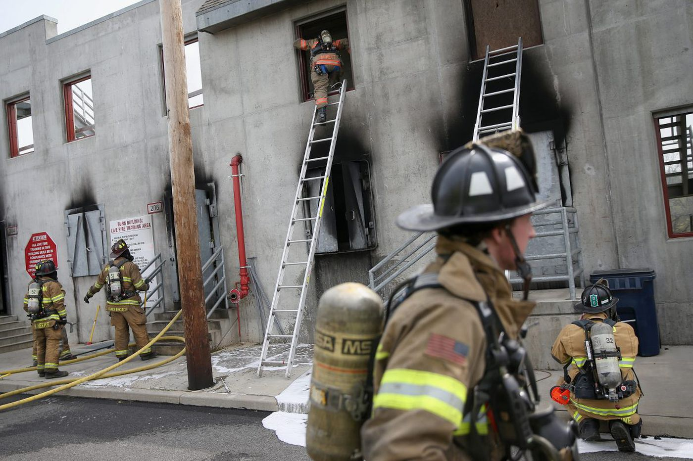 Fire departments, desperate for volunteers, get creative