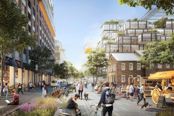 Philadelphia begins developer search for Navy Yard expansion, with apartments in the mix