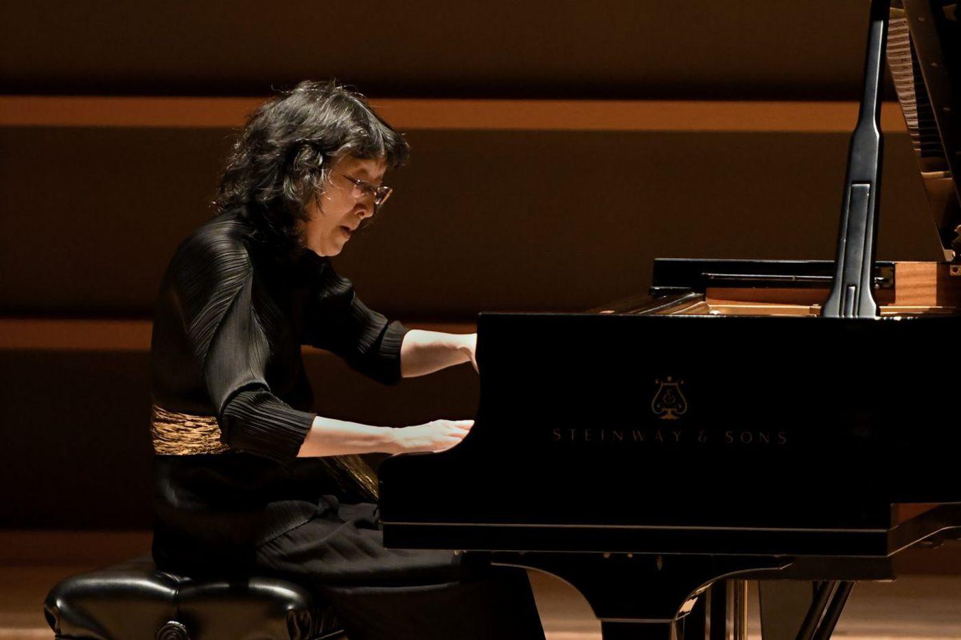 Defying gravity with pianist Mitsuko Uchida