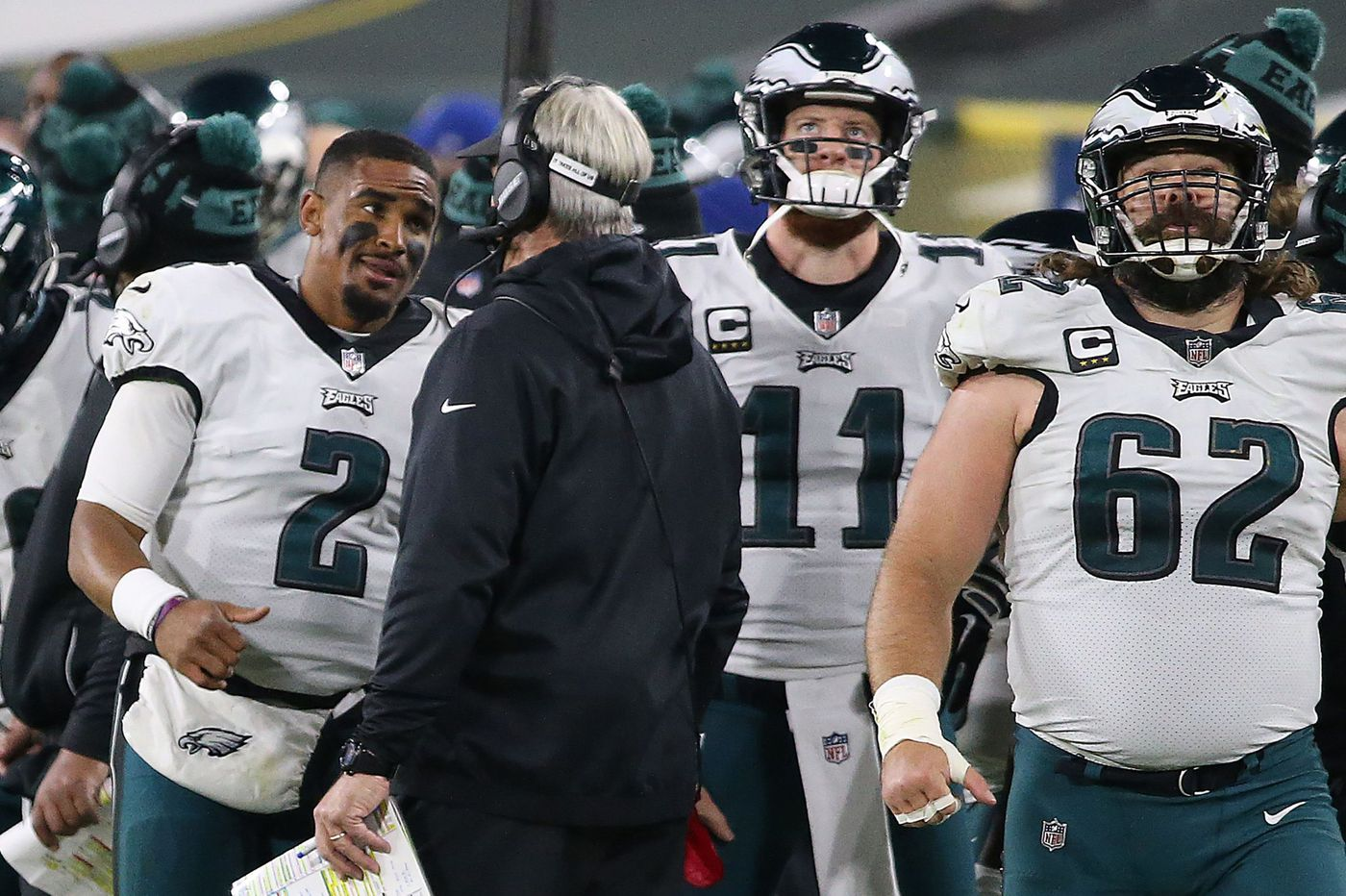 Eagles' Doug Pederson: 'I've got a ton of confidence in Carson Wentz and always have'