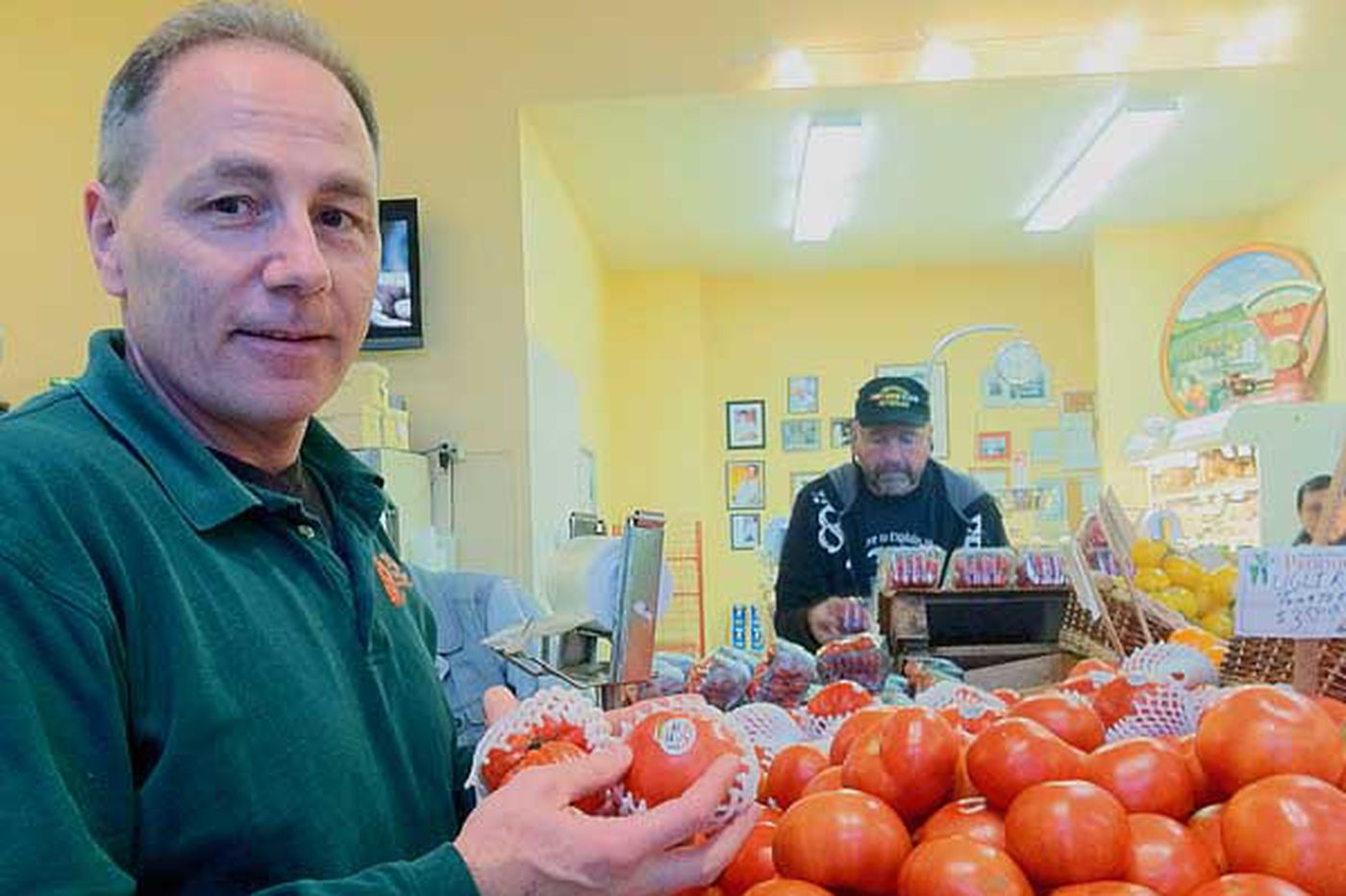 Amid the produce, Vince Mazzeo basks in Assembly win