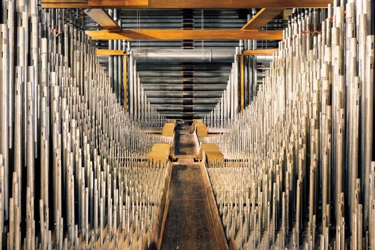 Wanamaker Organ, String Chamber, 2016