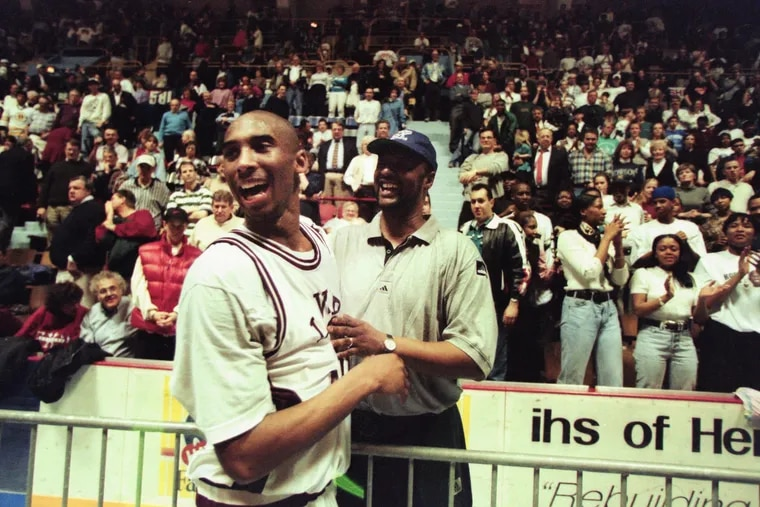 Lower Merion's Kobe Bryant in a game on March 23, 1996.