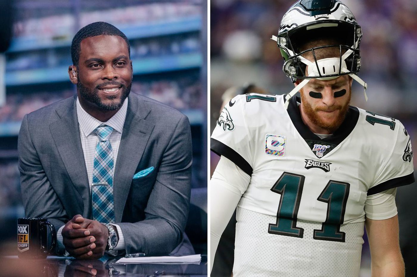 Michael Vick thinks Carson Wentz will fail, questions his character