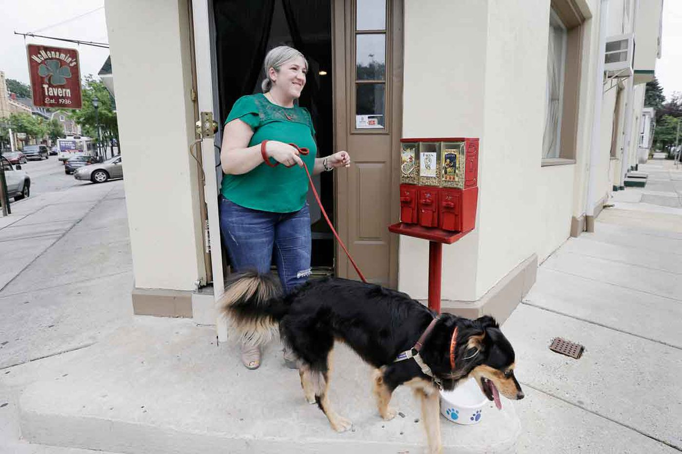 In Mount Airy, this commercial strip has gone to the dogs, but in a good way