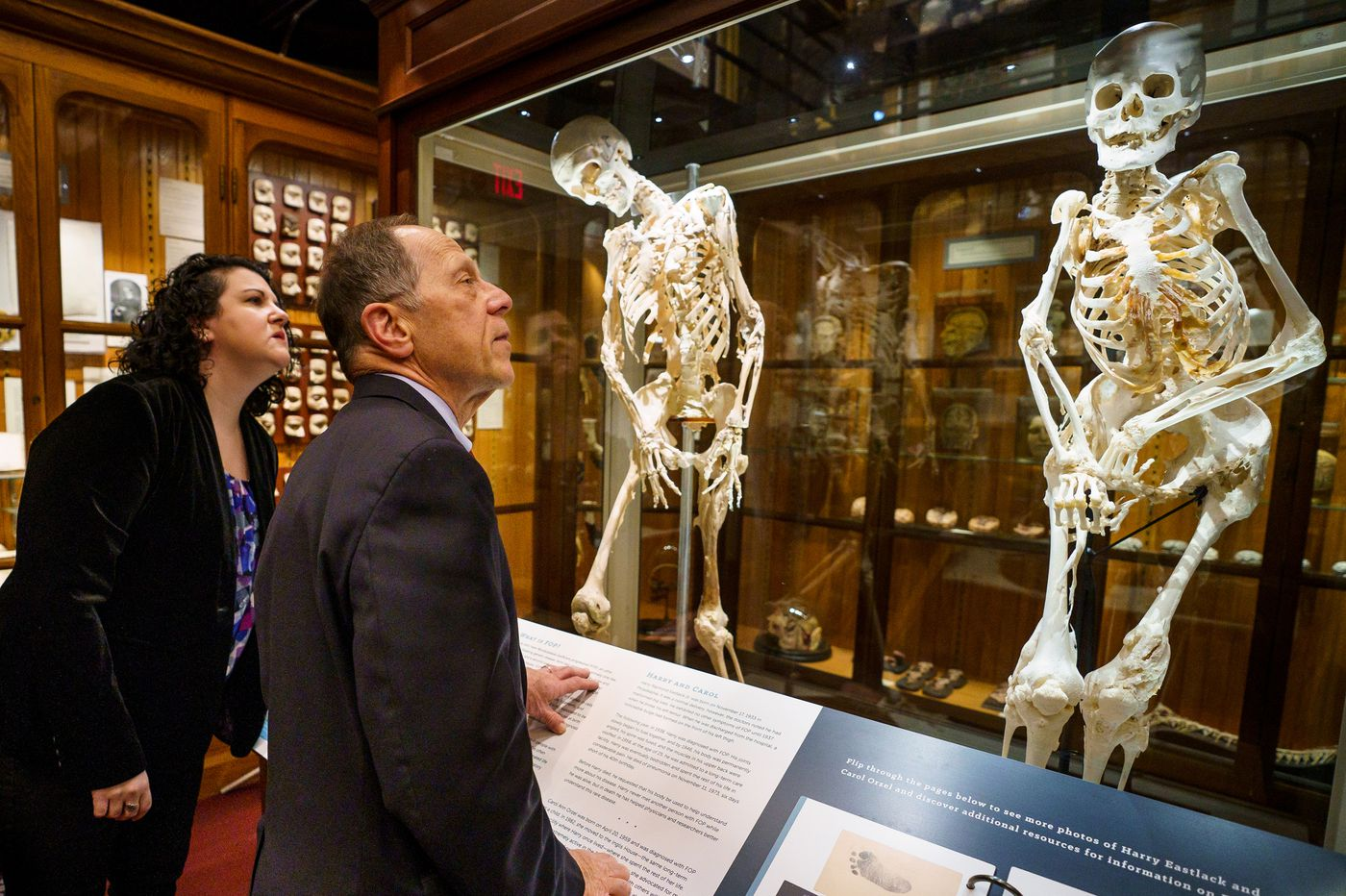 New Mutter Museum exhibit grants final wish for woman who turned to bone